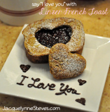 Linzer French Toast recipe jacquelynne steves
