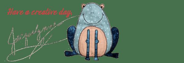HaveACreativeDay-FrogApplique