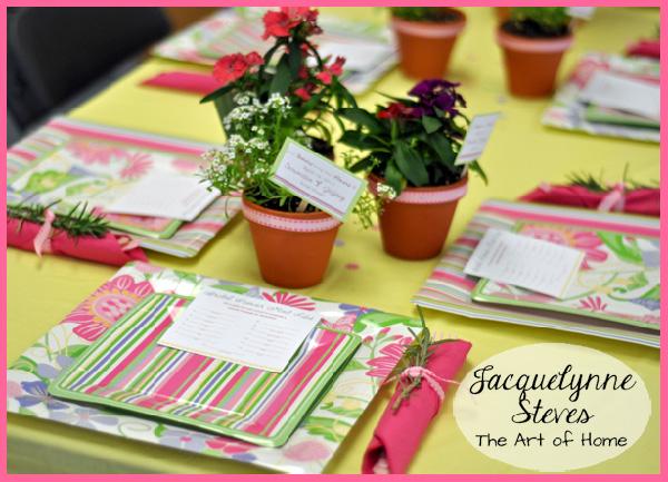Bridal Shower Decorations for table- Jacquelynne Steves