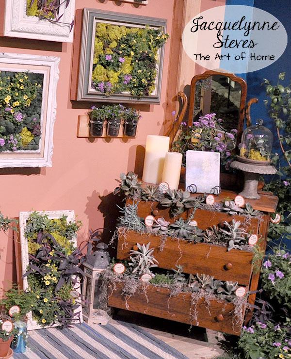 Unique Garden Decor  Jacquelynne Steves