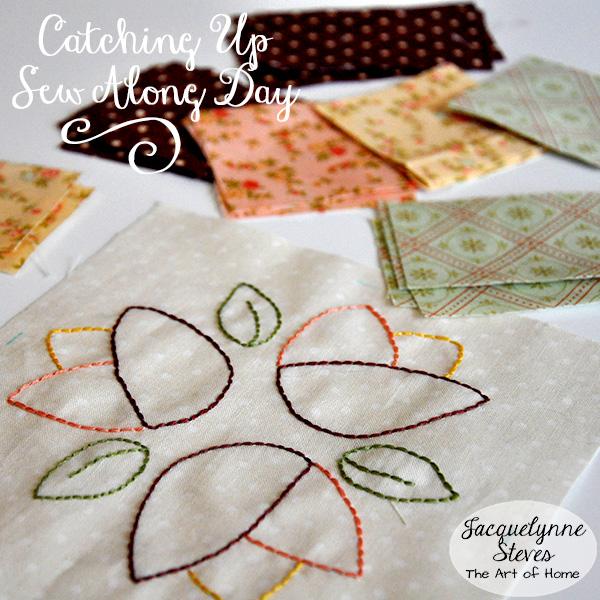 Sew Along Day Jacquelynne Steves 1