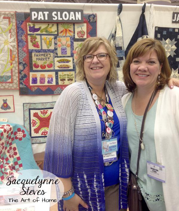 Quilt Market Spring 2015- Pat Sloan and Jacquelynne Steves