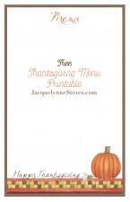 Free Thanksgiving Menu Printable_ Jacquelynne Steves