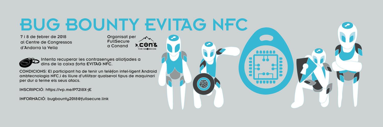 Bub Bounty Express EVITAG NFC à CONAND 2018 Andorre Centre des COngrès