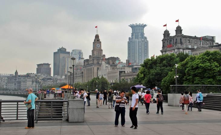 Shanghai Baby - Le Bund, lieu de promenade le long du fleuve Yangtze