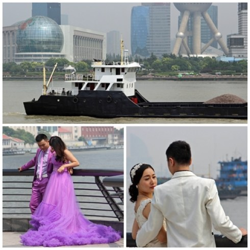 Jeunes de Shanghai