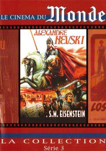 Alexandre Newski de Eisensgtein DVD édité par le journa Le Monde