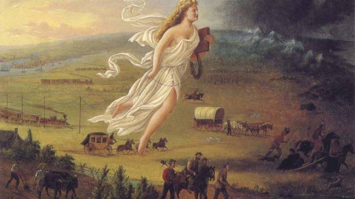Manifest Destiny. United State - Defending property and possession of fire arms