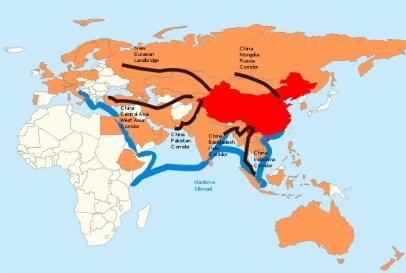 USA - Chine Les nouvelles routes de la soie. Les affrontements géostratégiques du XXI° siècle se dérouleront entre puissances qui ne partagent pas le même référentiel