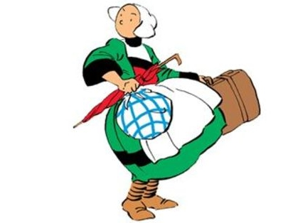 Bécassine, la jeune campagnarde qui arrive à la ville histoires en bande dessinée pour jeunes filles