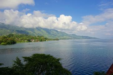 View onto Toba Lac