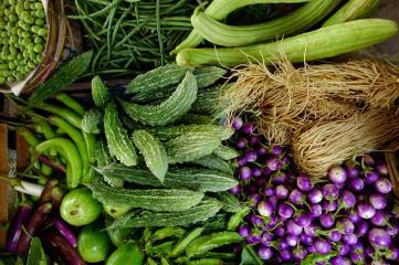 Vegetables patchwork