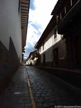 Streets of Cusco