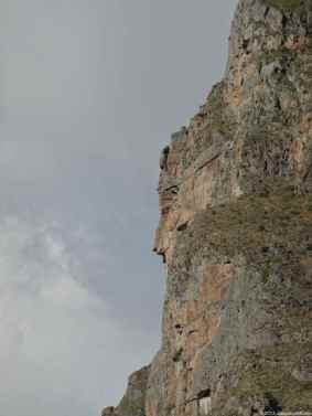 On the Pinkuylluna mountain has been sculpted the face of Tunupa, the god creator messenger