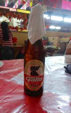 Local beer at the market