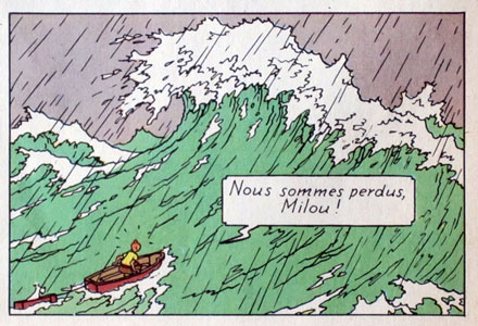 Herge The wave
