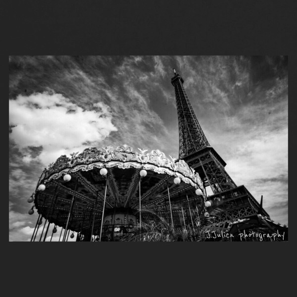 photographie grand angle noir et blanc Paris