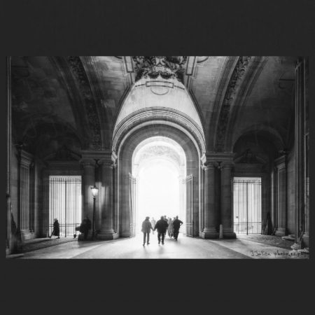 The Gate – Monochrome Print