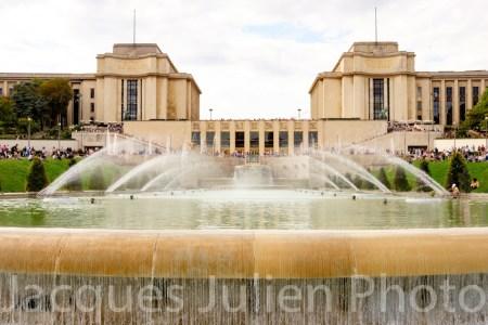 Fontaine du Trocadéro – Photo stock