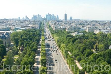 Avenue des Champs-Elysées – Photo stock