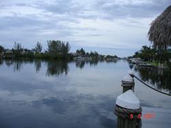 Cape Coral, le canal.