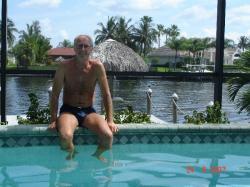 Le soleil et la piscine un programme pas trop fatiguant!