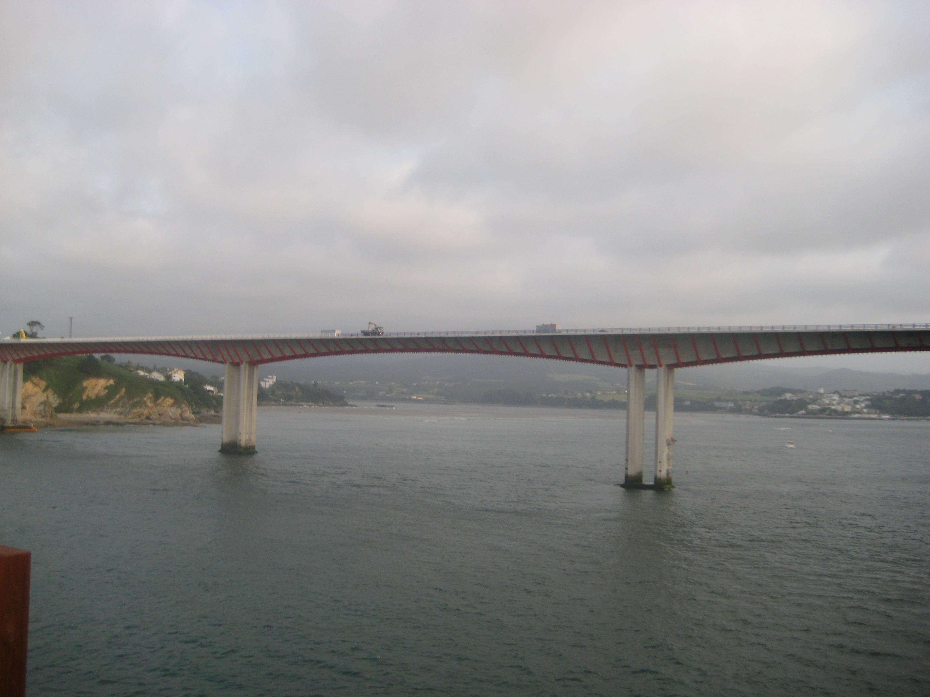 La rivière EO marque la frontière entre Asturies et Galicie