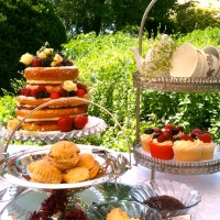 Summer vintage tea party