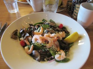Spinach & Shrimp Salad