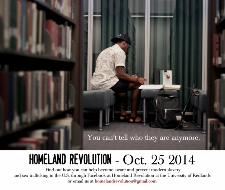 Homeland Revolution at the University of Redlands by JQ Robinson