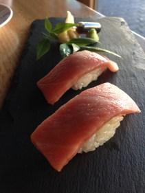 Premium tuna belly nigiri