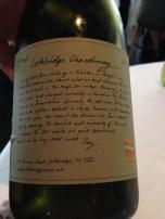 A very enjoyable chardonnay!