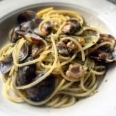 Lunching in Portofino: Spaghetti alle vongole, Portofino Italy