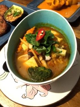 Vegetarian Tom Yum Soup