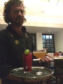 Rob our friendly barman