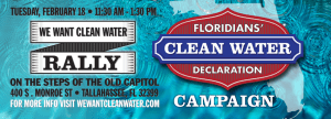 The Florida Clean Water Campaign, Tallahassee  2-18-14