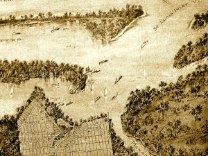 1911 Seawall's Point Land Company map