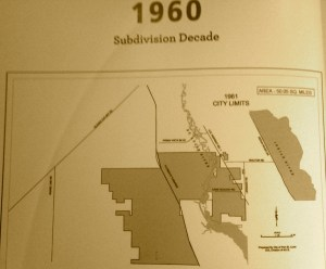 Growth of City of City along Port St Lucie