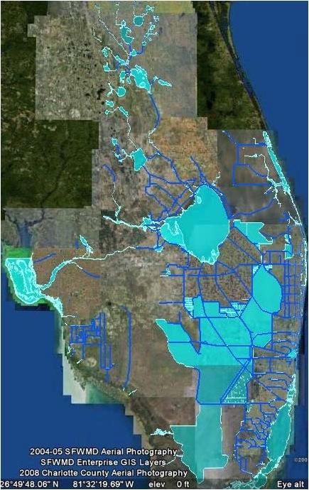 EAA drainage 2005