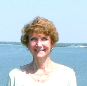 Sandra Henderson Thurlow, historian and author has written four books about the pioneer culture along the St Lucie River/IndianRiver Lagoon.(Photo, Tom Thurlow, 2010)