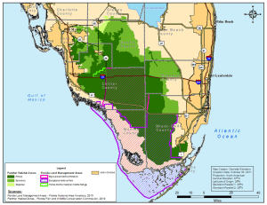 Panther habitat FWC/State of Florida.