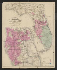 Disston 4,000,000 acres from the state of Florida in 1881, which included much of the land within the savannas. ( Public map, 1881.)