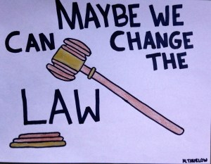 Maybe We Can Change the Law
