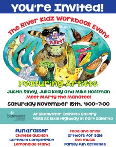 All are invited to attend the River Kidz  Workbook Event Fundraiser