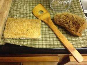 Sponges in my kitchen....