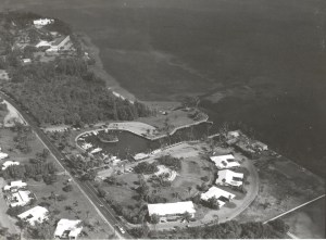 Another aerial of the completed  marina in 1965. (Photo courtesy of Thurlow Archives.)