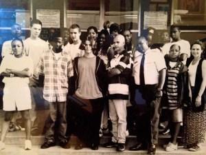 Pensacola High School 1993, English Class. (Photo courtesy of photography teacher at PHS.)