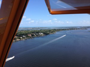 East side of Sewall's Point, 3-8-15 showing St Lucie River.  (Ed Lippisch)