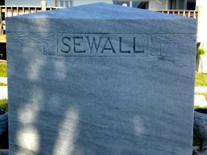 Sewall plot.