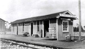 Salerno Depot, courtesy of Seth Bramson via Sandra Henderson Thurlow.